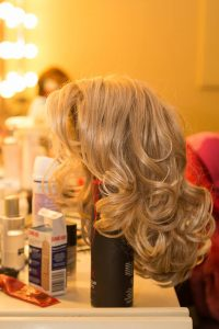 Sweet Charity VIP Backstage Experience - in the dressing room