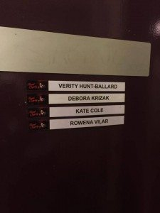 Sweet Charity VIP Backstage Experience - dressing room