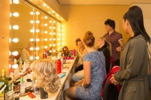 Sweet Charity VIP Backstage Experience - fun in the dressing room