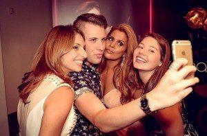selfies with Lisa-Marie Parker and RHOM star Pettifleur