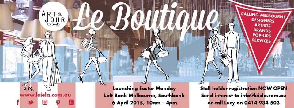 ART du JOUR by Leiela Le Boutique Launch