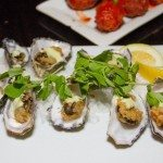 Seafood, oysters at Left Bank Melbourne