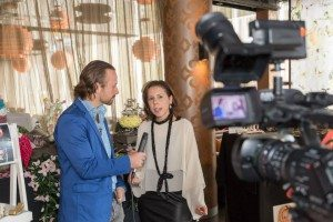 Media Strikes Back covering ART du JOUR by Leiela's Le Boutique Launch