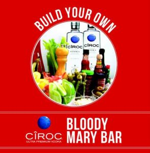 Left Bank Bloody Mary Bar