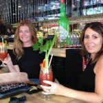 Build your own bloody mary at Left Bank Melbourne