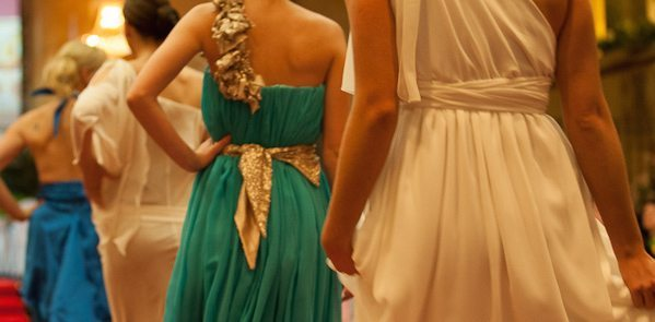 Leiela gowns are often featured at charity runways