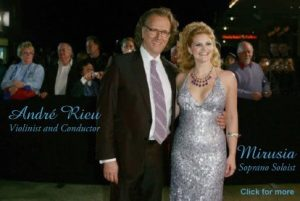 Andre Rieu and Mirusia Louwerse