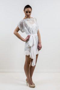 Leiela Mini Shift dress