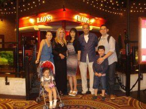 Dinner at Rao's in Vegas