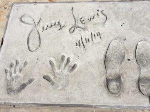 Jerry Lewis Handprints