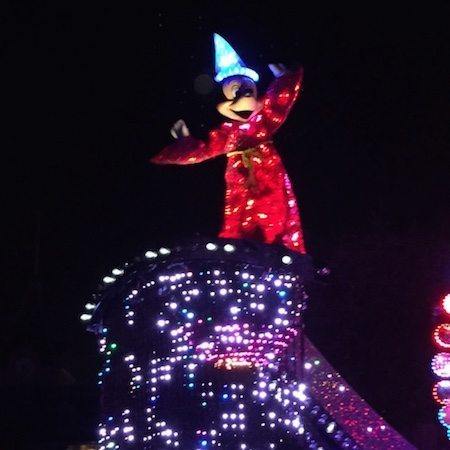 Mickey Mouse and the magic of Disneyland