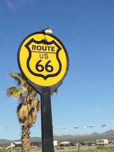 The famous Route 66.