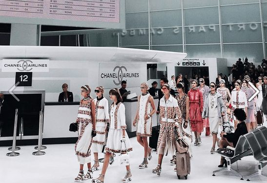Chanel Airlines Ready For Take-Off