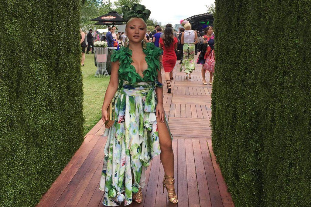Leiela Myer Fashion on the field award