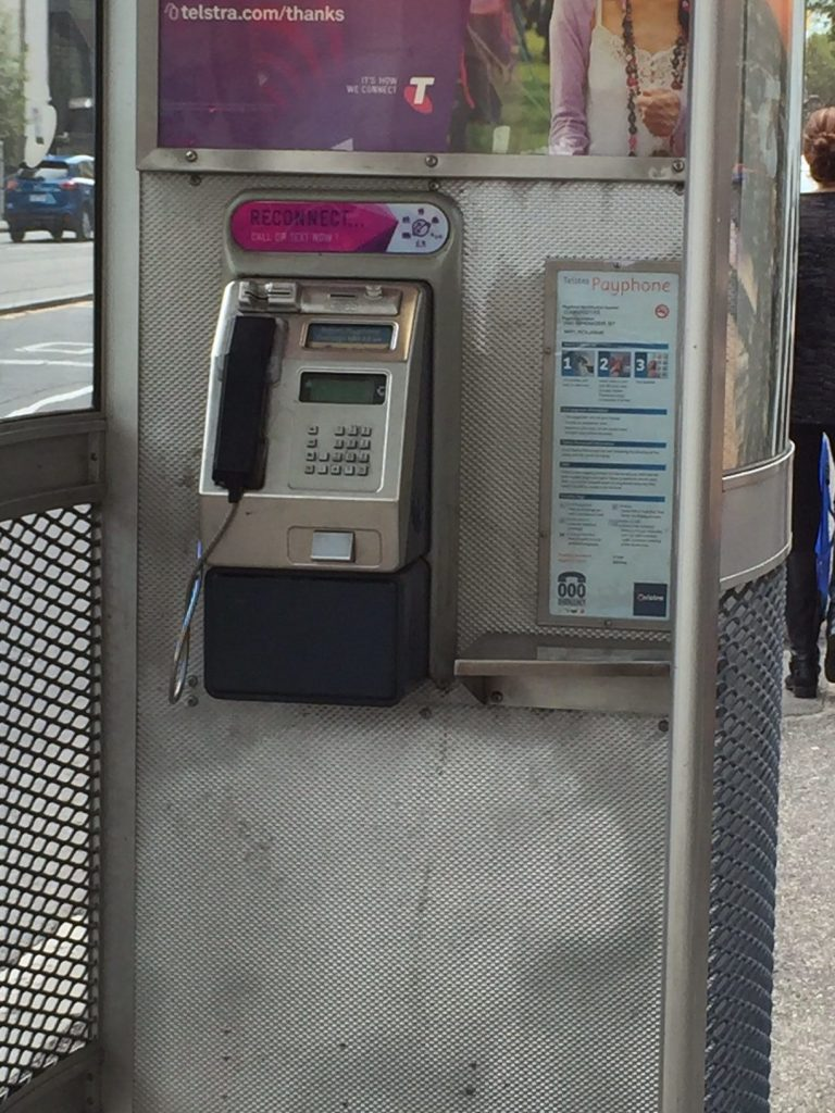 Melbourne, Telstra Phone Booth