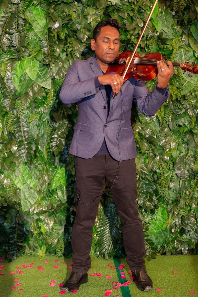 Violinist Rasika Dinesh Hewage