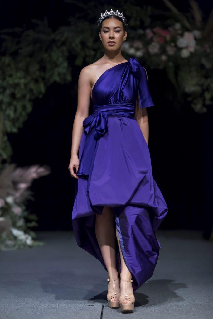 blue bridesmaid dressess
