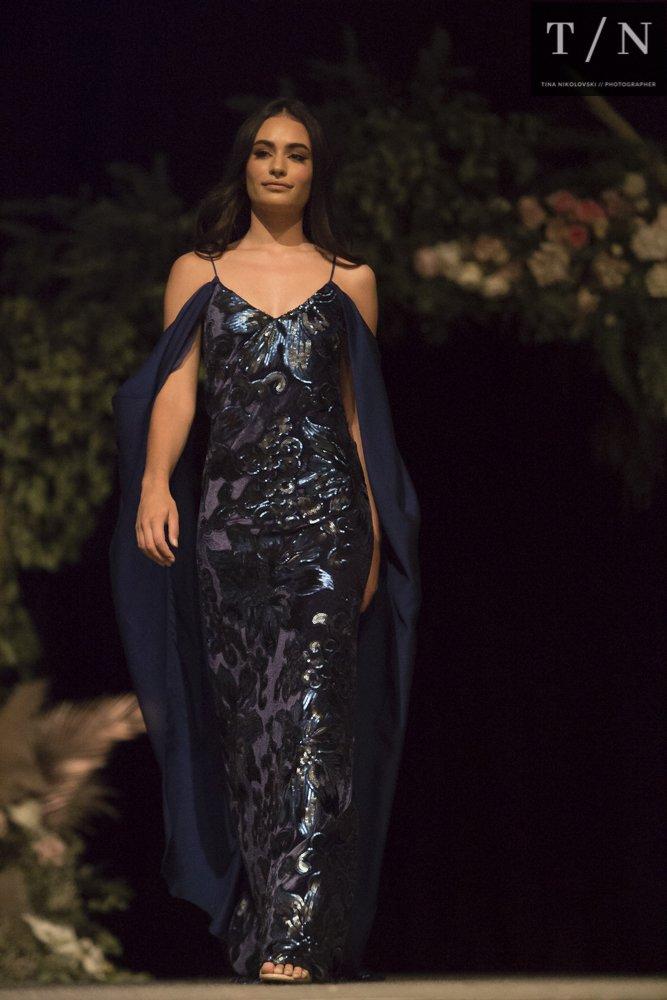 Canberra Wedding fair black dress