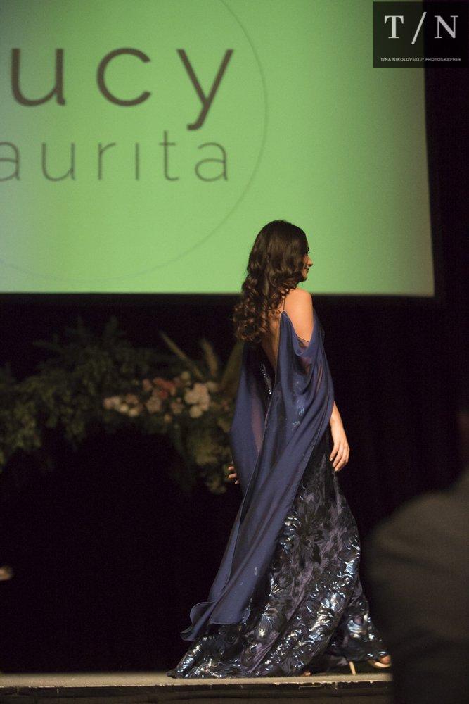 designer bridesmaid dresses at the wedding expo