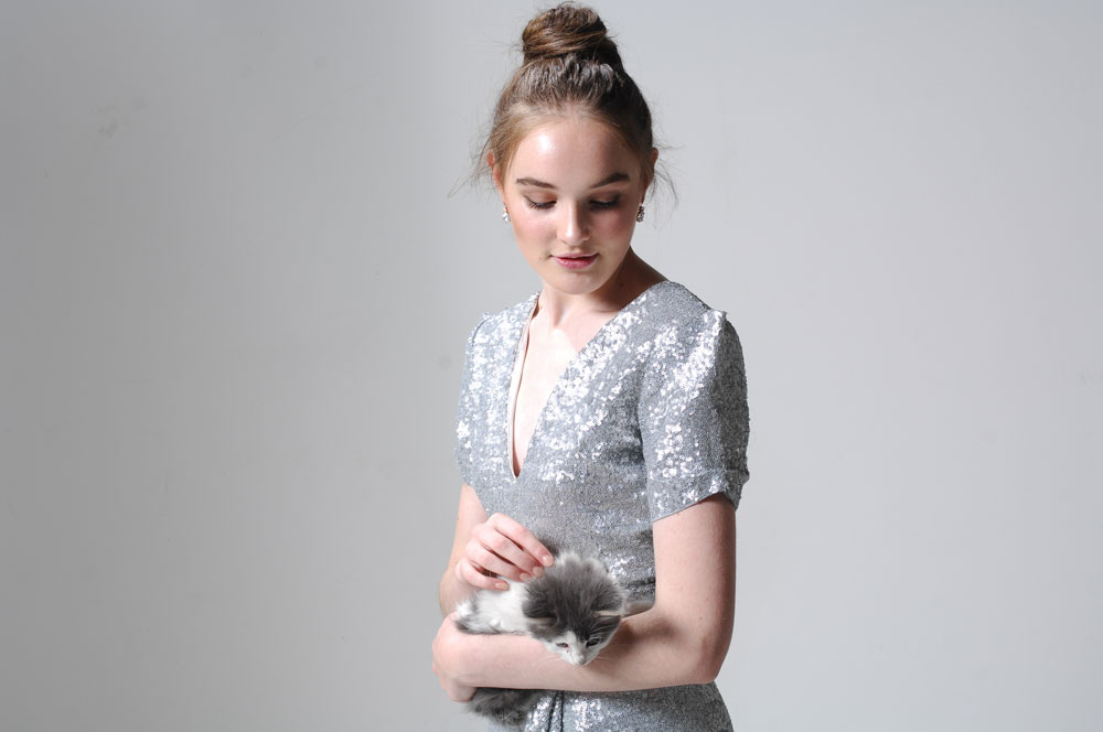 Eryn Saunders Kitten Photoshoot