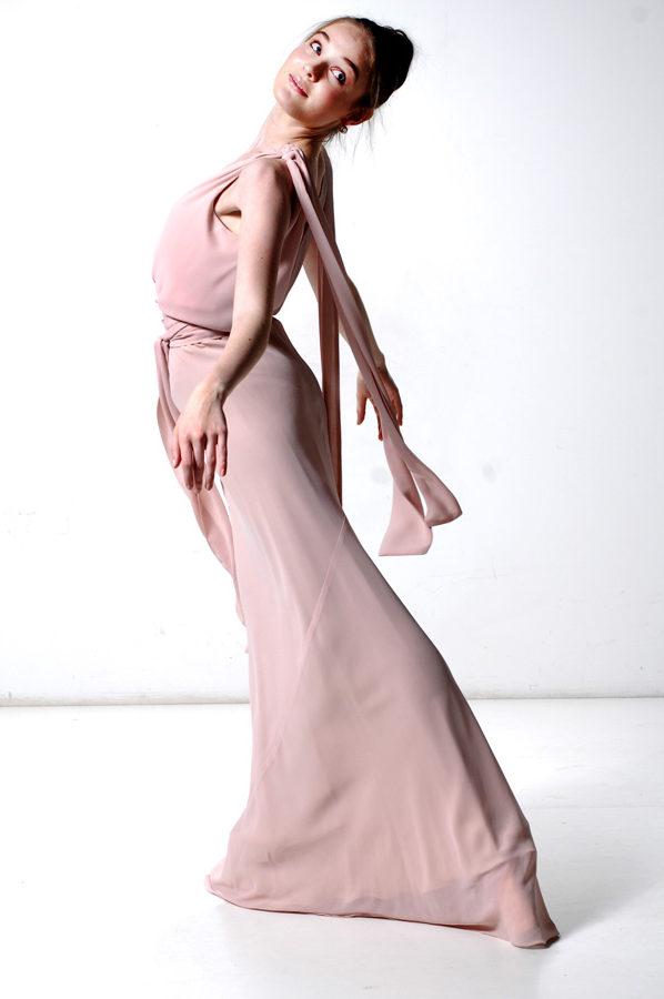 Chiara Gown Vitage Georgette